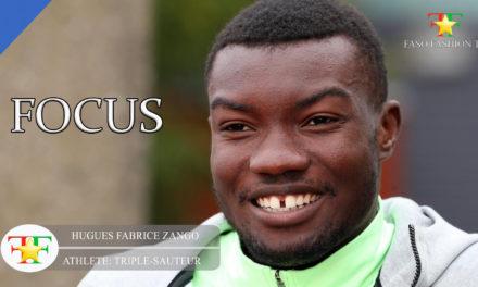 Huges Fabrice Zango le phénomène de l'athlétisme Burkinabè