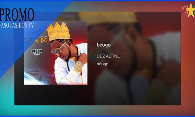Dez Altino – decouvrez son nouvelle album    FasoFashionTV
