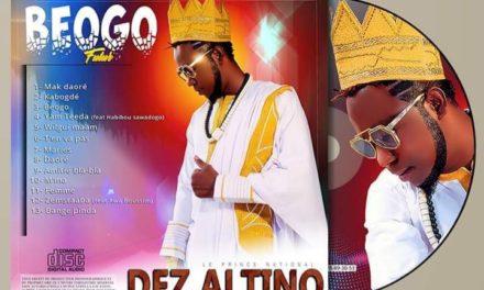 L'album BEOGO de DEZ ALTINO en tête de vente CD et téléchargement de l'année 2019