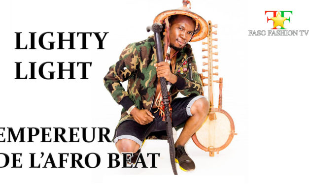 Lighty Light l'empereur de l'Afro Beat Burkinabe